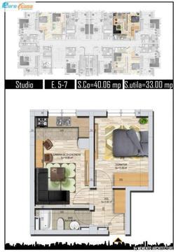 Apartament tip Studio Militari Tineretului Direct Dezvoltator
