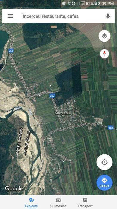 Teren agricol Tecuci