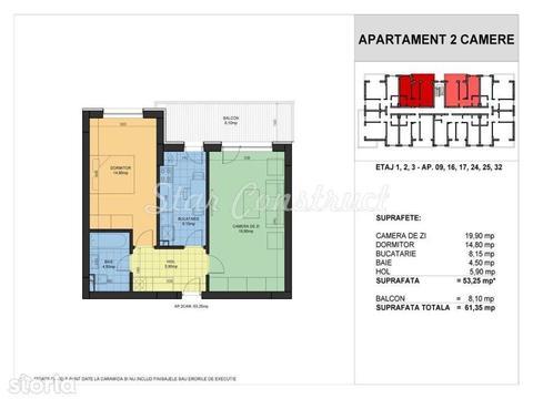 Prelungirea Ghencea - Garsoniera Studio cu balcon - Direct Dezvoltator
